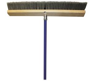 "Genuine Joe 20129 All-Purpose Sweeper, 24"", Gray by Genuine Joe"