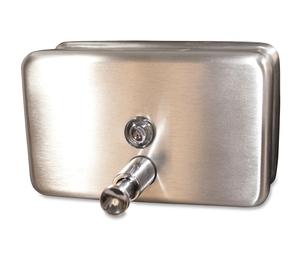 Genuine Joe 85146 Dispenser,Soap,Ss,40Oz by Genuine Joe