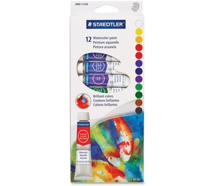 Staedtler Mars GmbH & Co. 8880 C12A6 Paint Set-Watercolour Tradition 12 12Ml. Tubes by Staedtler
