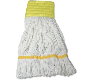 IMPACT PRODUCTS, LLC L166SM Saddle Wet Mop Blend, Looped End, Sm, Natural by Impact Products
