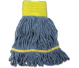 IMPACT PRODUCTS, LLC L270SM Wet Mop Head, W/Tailband, Looped-End, Sm, 12/Ct, Be by Impact Products