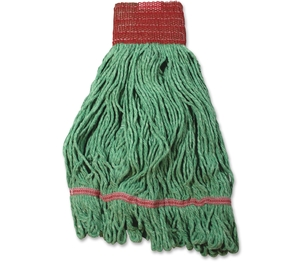 IMPACT PRODUCTS, LLC L281LG Saddle Wet Mop, Looped,Large, Green by Impact Products