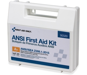 First Aid Only, Inc 90589 Ansi First Aid Kit, Vehicle/Worksite, 141 Pcs, We by First Aid Only