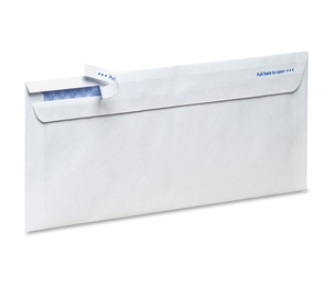 Tops Products 73139AMP Security Envelope, No.10, Self Sealing, 100/Bx, White by TOPS