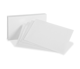 """Tops Products 10013 Blank Index Cards, 3""""X5"""", 300/Pk, White by Oxford"""