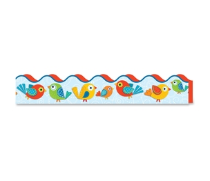 Carson-Dellosa Publishing Co., Inc 108174 Boho Birds Scalloped Borders, Prek/Grade 8, 13/Pk, Multi by Carson-Dellosa