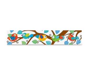 Carson-Dellosa Publishing Co., Inc 108149 Boho Birds Straight Borders, Prek/Grade 8, 12/Pk, Multi by Carson-Dellosa