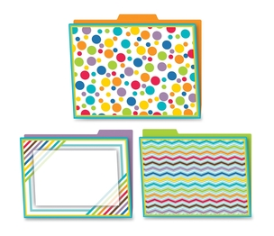 Carson-Dellosa Publishing Co., Inc 136003 Color Me Bright File Folders, Prek-High Schl, 6/Pk, Multi by Carson-Dellosa