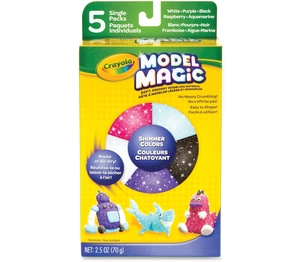 Crayola, LLC 232229 Model Magic Shimmer Variety Pack, 5/Pk, Ast by Model Magic