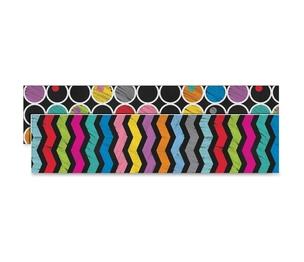 Carson-Dellosa Publishing Co., Inc 108197 Colorful Chalkford Straight Borders, Prek/Grade 8, 12/Pk, Mi by Carson-Dellosa