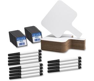 Flipside Products, Inc 10041 Dry Erase Answer Paddle, Pen/Eraser Set, 12/Pk, We by Flipside