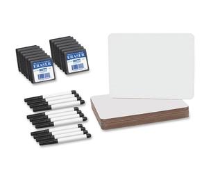 """Neenah Paper, Inc 21003 Dry Erase Board Set, 9-1/2""""X12"""", 12/Pk, White by Flipside"""