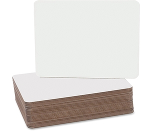 "Flipside Products, Inc 12064 Dry Erase Board, 9-1/2""X12"", 24/Pk, White by Flipside"