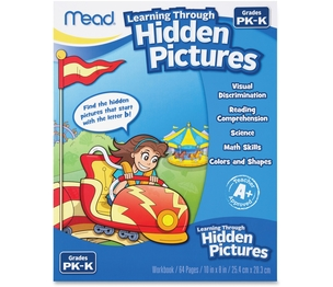 ACCO Brands Corporation 48016 Hidden Pictures Workbook, 64Pgs, White by Mead