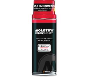 MOLOTOW 337009 Art Spray Paint, 13.5Oz., Red by MOLOTOW