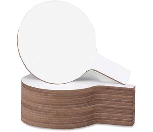 "Flipside Products, Inc 10037 Mini Dry Erase Answer Paddle, 5""X9"", White by Flipside"