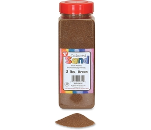 Hygloss Products, Inc 29310 Natural Sand, 3Lb, Brown by Hygloss