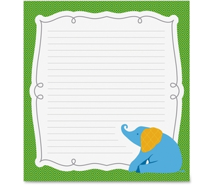 Carson-Dellosa Publishing Co., Inc 151082 Parade Of Elephants Notepad, Prek-Gr 8, 50Shts/Pk, Multi by Carson-Dellosa
