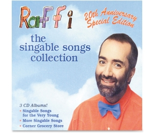 Flipside Products, Inc M10503 Raffi The Singable Songs Collection, 3 Disc, Ast by Flipside