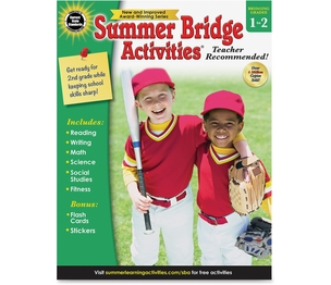 Carson-Dellosa Publishing Co., Inc 704697 Summer Bridge Activities Wrkbk, Gr1-2, 160 Pgs, Multi by Summer Bridge