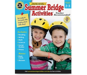 Carson-Dellosa Publishing Co., Inc 704698 Summer Bridge Activities Wrkbk, Gr2-3, 160 Pgs, Multi by Summer Bridge
