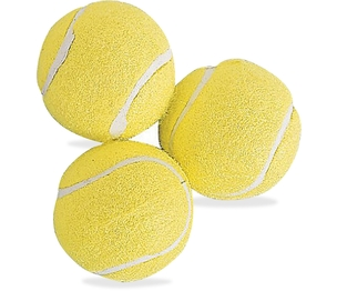 CHAMPION SPORTS TB3 Tennis Ball, 3/Pk, Yellow by Champion Sports