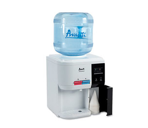 """Avanti Products WD31EC Tabletop Thermoelectric Water Cooler, 13 1/4"""" dia. x 15 3/4h, White by AVANTI"""