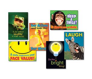 "TREND ENTERPRISES, INC. TA67920 ""Attitude & Smiles"" ARGUS Poster Combo Pack, 6 Posters/Pack by TREND ENTERPRISES, INC."