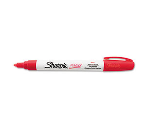 Sanford, L.P. 34902 Permanent Paint Marker, Medium Point, Red by SANFORD
