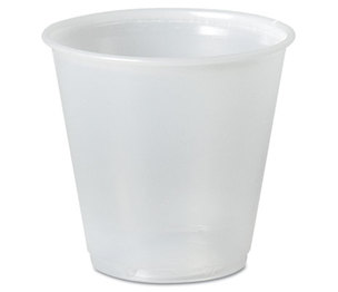 SOLO P35A Galaxy Translucent Cups, 3.5 oz, 100/Pack by SOLO CUPS