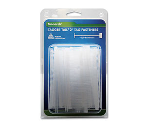 """MONARCH MARKING 925045 Tagger Tail Fasteners, Polypropylene, 2"""" Long, 1,000/Pack by MONARCH MARKING"""