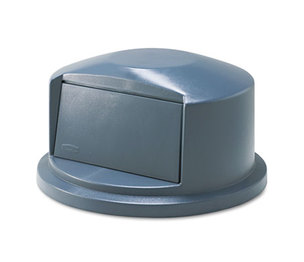 RUBBERMAID COMMERCIAL PROD. 263788 Brute Dome Top Swing Door Lid for 32 Gallon Waste Containers, Plastic, Gray by RUBBERMAID COMMERCIAL PROD.