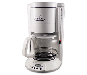 Original Gourmet Food Company, Inc CP330W Home/Office 12-Cup Coffee Maker, White by ORIGINAL GOURMET FOOD COMPANY