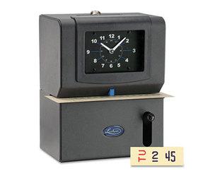 Lathem Time Company 2121 Heavy-Duty Time Clock, Mechanical, Charcoal by LATHEM TIME CORPORATION