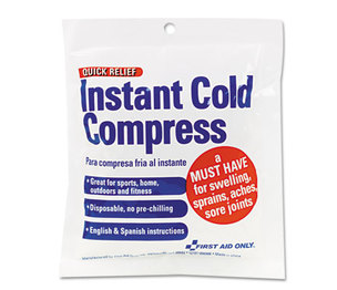 First Aid Only, Inc Z6005 Cold Compress, 4 x 5 by FIRST AID ONLY, INC.
