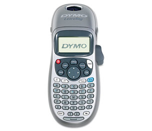 DYMO 21455 LetraTag Plus LT-100H Label Maker, 2 Lines, 3 1/10w x 2 3/5d x 8 3/10h by DYMO