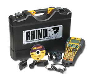 DYMO 1734520 Rhino 6000 Industrial Label Maker Kit, 5 Lines, 13 4/5w x 17 4/5d x 4h by DYMO