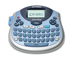 DYMO 1733013 LetraTag Plus LT-100T Label Maker, 2 Lines, 6 7/10w x 2 4/5d x 5 7/10h by DYMO