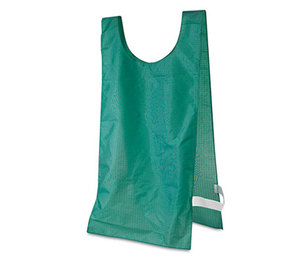 CHAMPION SPORTS NP1GN Heavyweight Pinnies, Nylon, One Size, Green, 12/Box by CHAMPION SPORT