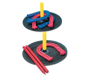 CHAMPION SPORTS IHS1 Indoor/Outdoor Rubber Horseshoe Set by CHAMPION SPORT