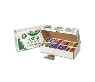 BINNEY & SMITH / CRAYOLA 528008 Classpack Regular Crayons, 8 Colors, 800/BX by BINNEY & SMITH / CRAYOLA