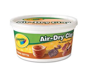 BINNEY & SMITH / CRAYOLA 575064 Air-Dry Clay, Terra Cotta, 2 1/2 lbs by BINNEY & SMITH / CRAYOLA
