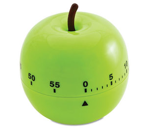 "BAUMGARTENS 77056 Shaped Timer, 4 1/2"" dia., Green Apple by BAUMGARTENS"