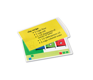 Fellowes, Inc 52008 Laminating Pouches, 5mil, 3 1/2 x 5 1/2, Index Card Size, 25/Pack by FELLOWES MFG. CO.