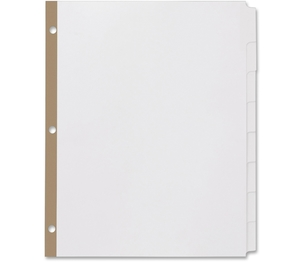 Avery 11339 Index Dividers With Laser Labels, 8 Tabs, 25/PK, White by Avery