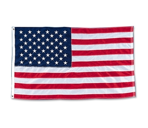 BAUMGARTENS TB-4600 American Flag, Nylon Stitched, 4'x6' by Baumgartens