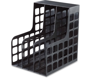 "Tops Products 23004 Shelf File, Plastic, 9""x10-5/8""x12"", Black by Pendaflex"