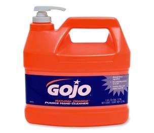Gojo Industries, Inc 095504 Hand Cleaner,Orange Pumice,w/Baby Oil,1 Gal,Citrus by Gojo
