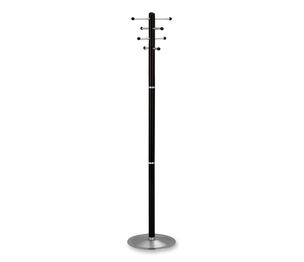 """Safco Products 4193MH Wood Costumer, Free-Standing, 8-Hook, 69""""H, Mahogany by Safco"""