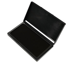 Consolidated Stamp Manufacturing Company 030253 Microgel Stamp Pad for 2000 PLUS, 2 3/4 x 4 1/4, Black by CONSOLIDATED STAMP